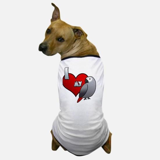 iheartmy_congo_blk Dog T-Shirt