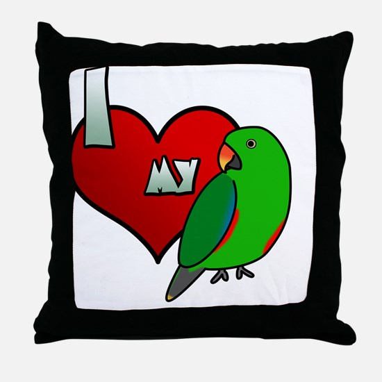 iheartmy_rs_male Throw Pillow