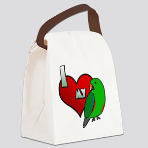 iheartmy_rs_male Canvas Lunch Bag