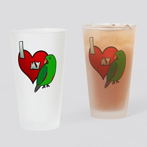 iheartmy_rs_male Drinking Glass