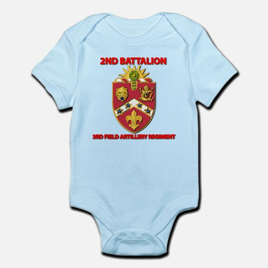 2nd Bn - 3rd FA Regt - 2013 Infant Bodysuit