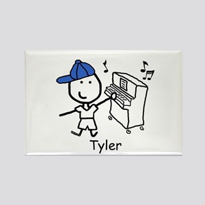 Piano - Tyler Rectangle Magnet