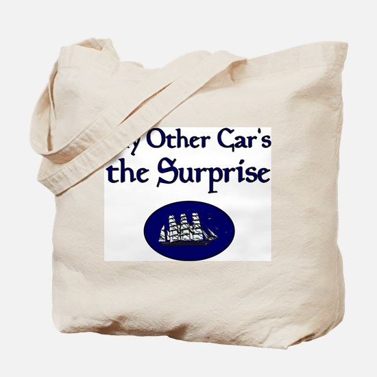 My Other Car's the Surprise Tote Bag