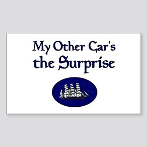 My Other Car's the Surprise Rectangle Sticker