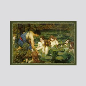 """""""Hylas and the Nymphs"""" Rectangle Magnet"""
