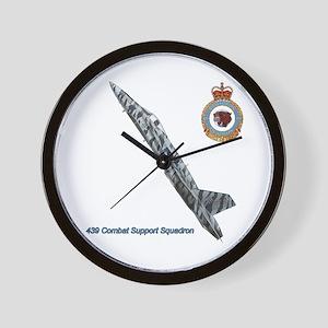 439 Combat Support Squadron Wall Clock