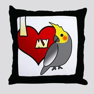 iheartmy_ctgreymale Throw Pillow