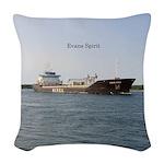 Evans Spirit Woven Throw Pillow