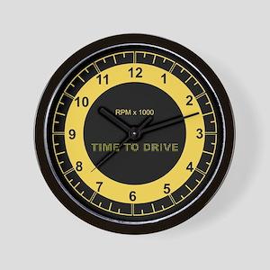 Sky RL Tach Full Face Wall Clock