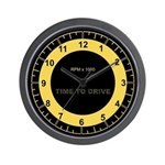 Sky RL Tach Full Face Wall Clock