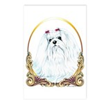 Maltese Holiday/Christmas Postcards (Package of 8)