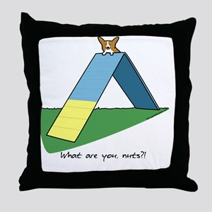 agilitycorgi Throw Pillow