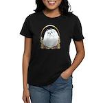 Maltese Holiday/Christmas Women's Dark T-Shirt