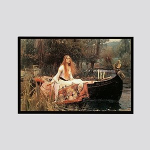 """""""The Lady of Shalott"""" Rectangle Magnet"""
