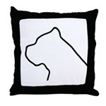 Cane Corso Throw Pillow