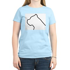 Cane Corso Outline Women's Light T-Shirt