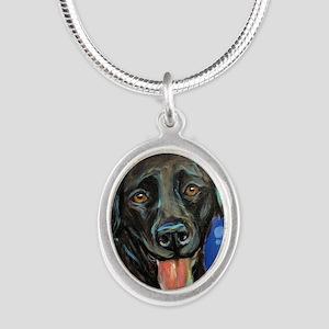 Black Labrador smile Necklaces