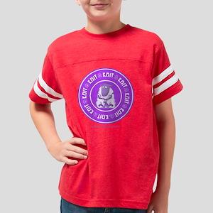 knit11x11blk Youth Football Shirt