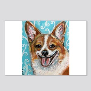 Welsh Corgi Smile Postcards (Package of 8)