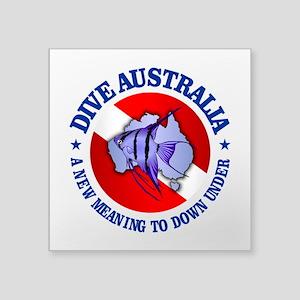 Dive Australia (rd) Sticker