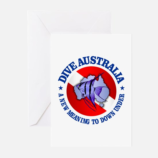 Dive Australia (rd) Greeting Cards (Pk of 10)