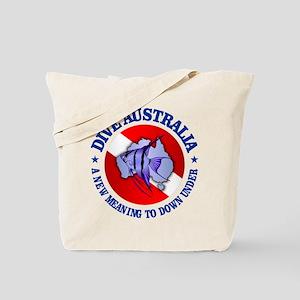Dive Australia (rd) Tote Bag