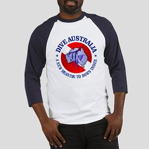 Dive Australia (rd) Baseball Jersey