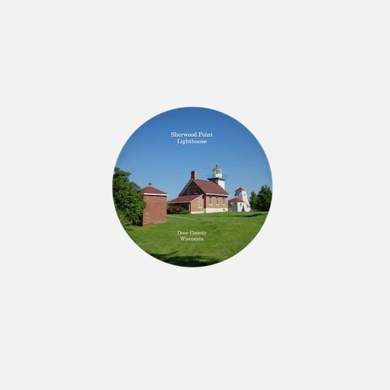Sherwood Point Lighthouse Mini Button