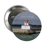 "Port Colborne Outer Light 2.25"" Button"