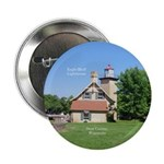 "Eagle Bluff Lighthouse 2.25"" Button"