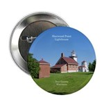 "Sherwood Point Lighthouse 2.25"" Button"