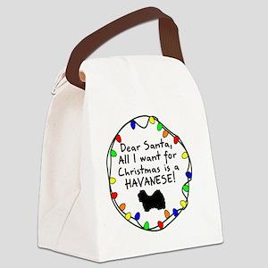 ds_havanese Canvas Lunch Bag