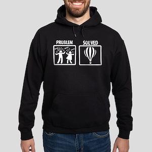 Problem Solved Hot Air Ballooning Sweatshirt