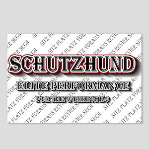 Schutzhund Elite Performance Postcards (Package of