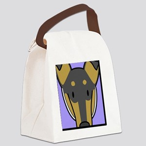 anime_smcollie_tri Canvas Lunch Bag