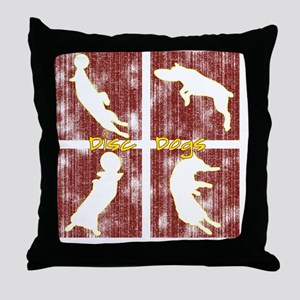 redboxes_discdogs Throw Pillow