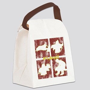 redboxes_flyball Canvas Lunch Bag