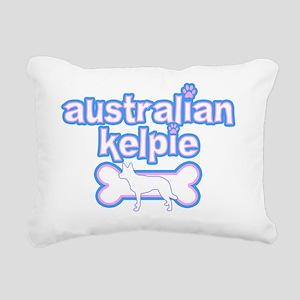 cutesy_auskelpie Rectangular Canvas Pillow