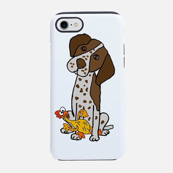 German Short-haired Pointer wi iPhone 7 Tough Case