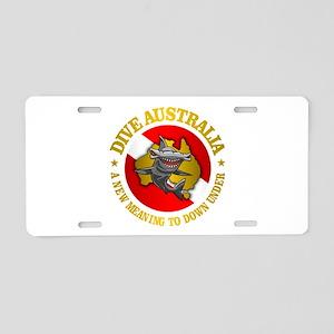 Dive Australia (hammerhead) Aluminum License Plate