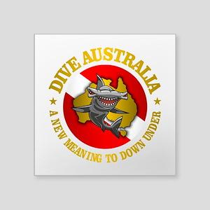 Dive Australia (hammerhead) Sticker