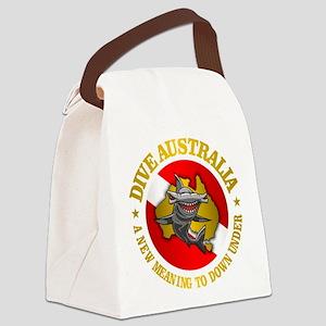 Dive Australia (hammerhead) Canvas Lunch Bag