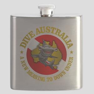 Dive Australia (hammerhead) Flask