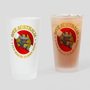 Dive Australia (hammerhead) Drinking Glass