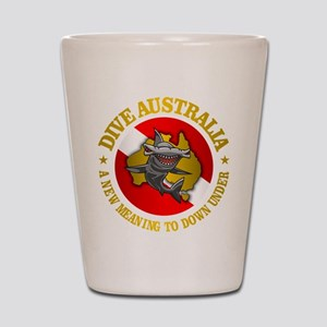 Dive Australia (hammerhead) Shot Glass
