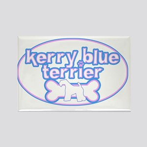 cutesy_kerry_oval Rectangle Magnet