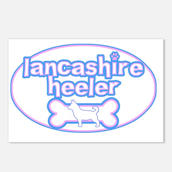 cutesy_lancashire_oval Postcards (Package of 8)