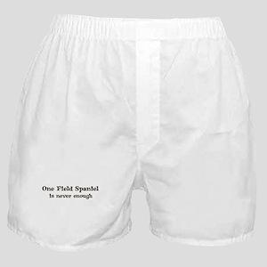 One Field Spaniel Boxer Shorts
