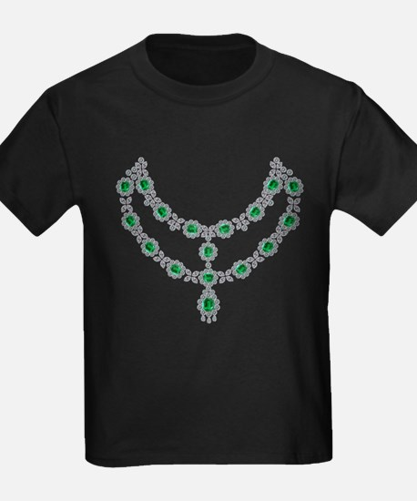 two-strand-emerald-faceted-necklace-8-15-2013 T-Sh