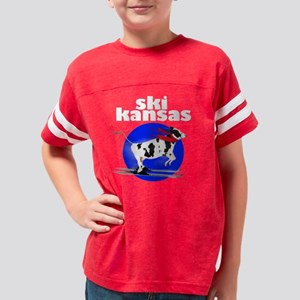 ski kansas Youth Football Shirt